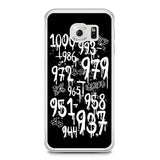 1000 Minus 7 Samsung Galaxy S6 Edge Case