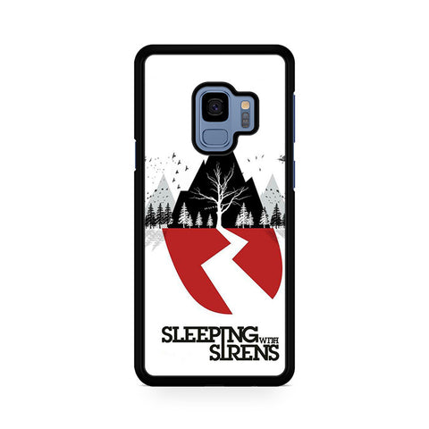 Sleeping With Sirens Logo Samsung Galaxy S9 Case