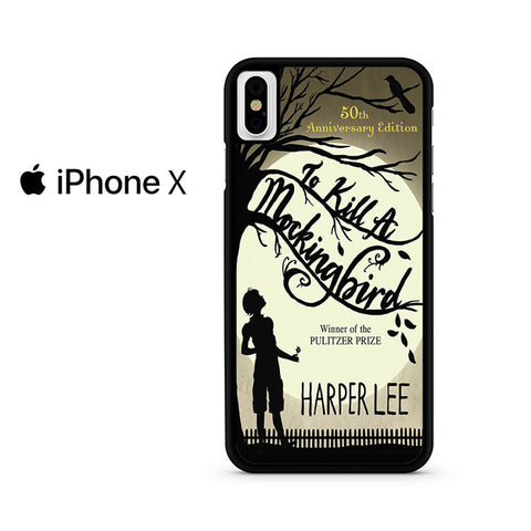 To Kill A Mockingbird Book Cover Iphone X Case