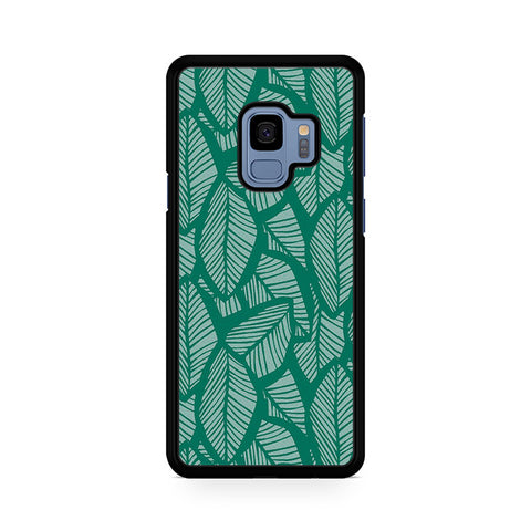 Tropical Palm Leaves Samsung Galaxy S9 Case
