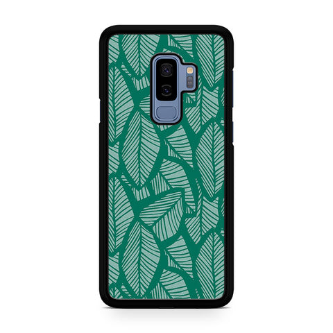 Tropical Palm Leaves Samsung Galaxy S9 Plus Case