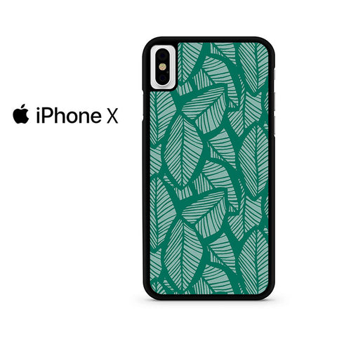 Tropical Palm Leaves Iphone X Case