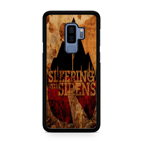 Vintage Sleeping With Sirens Logo Samsung Galaxy S9 Plus Case