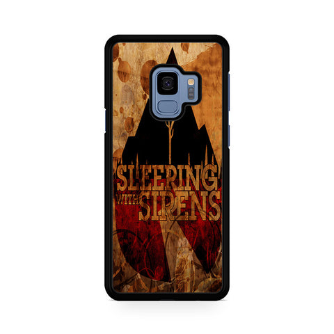 Vintage Sleeping With Sirens Logo Samsung Galaxy S9 Case