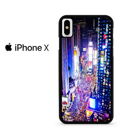 Times Square Iphone X Case