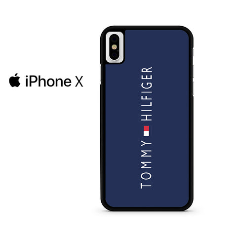 Tommy Hilfiger Navy Iphone X Case