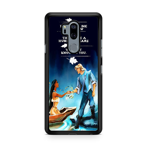 Sweet Couple Pocahontas Disney LG G7 Thinq Case