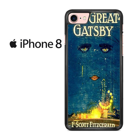 Vintage Book The Great Gatsby Iphone 8 Case