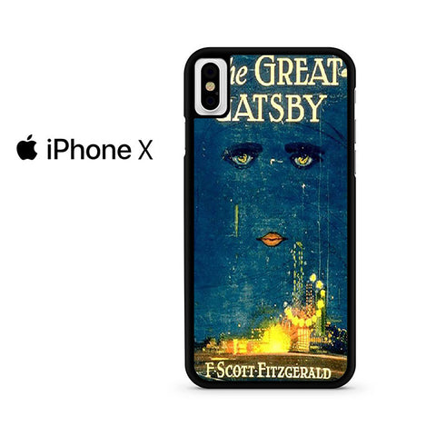 Vintage Book The Great Gatsby Iphone X Case