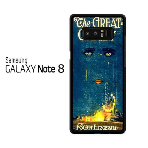 Vintage Book The Great Gatsby Samsung Galaxy Note 8 Case