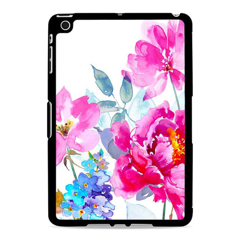 Watercolor Flower Blooms Ipad Mini 2 Case