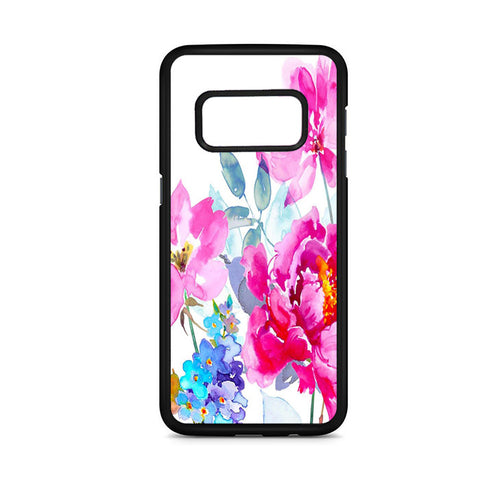 Watercolor Flower Blooms Samsung Galaxy S8 Case