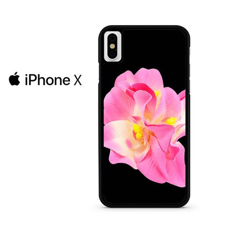 Yellow Pink Orchid Iphone X Case