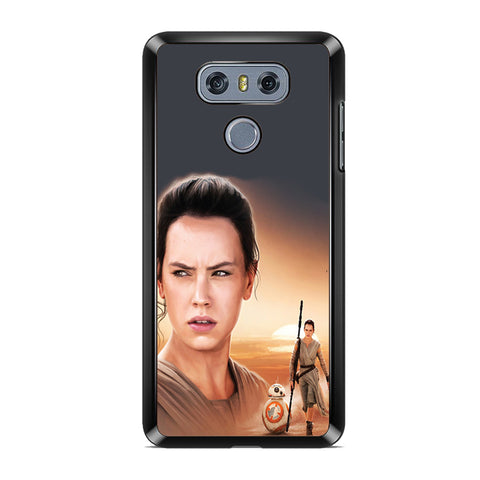 Star Wars Rey Stamp LG G6 Case