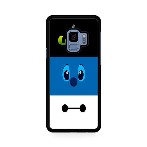 Toothless Stitch And Baymax Eyes Samsung Galaxy S9 Case