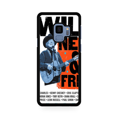 Willie Nelson And Friends Poster Samsung Galaxy S9 Case