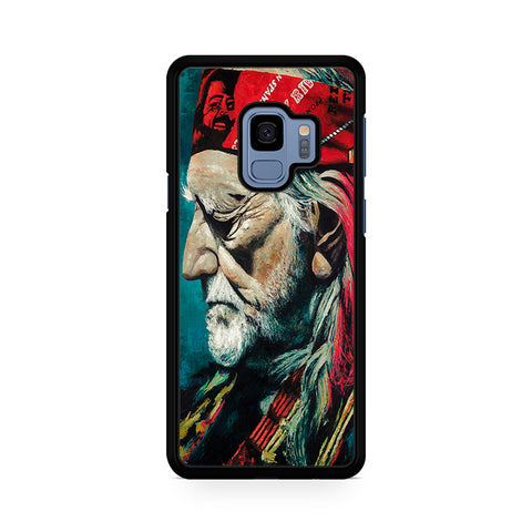 Willie Nelson Painting Oil Samsung Galaxy S9 Case