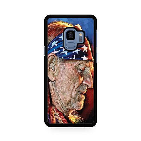 Willie Nelson Painting Samsung Galaxy S9 Case