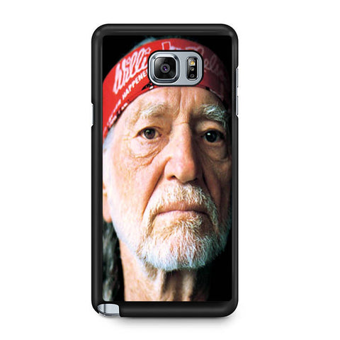 Willie Nelson With Bandana Samsung Galaxy Note 5 Case