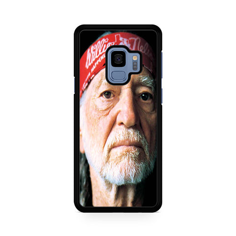Willie Nelson With Bandana Samsung Galaxy S9 Case