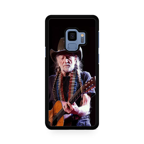 Willie Nelson With Guitar Samsung Galaxy S9 Case