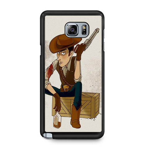 Woody Toy Story Redemption Samsung Galaxy Note 5 Case