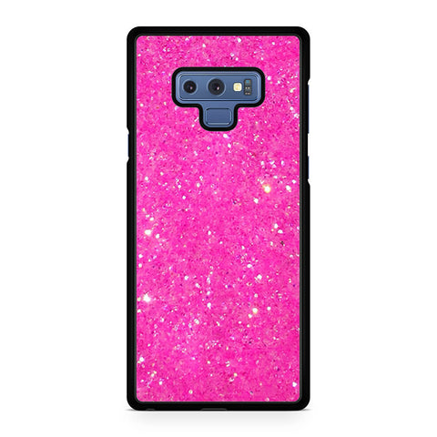 Pretty Pink Glitter Samsung Galaxy Note 9 Case