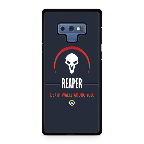 Reaper Death Walks Among You Samsung Galaxy Note 9 Case