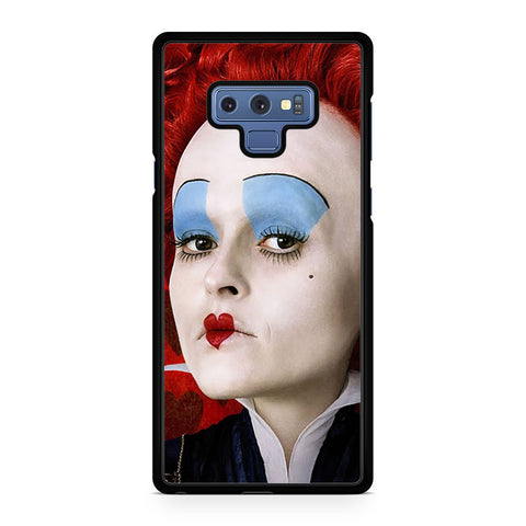Red Queen Alice in Wonderland Face Samsung Galaxy Note 9 Case