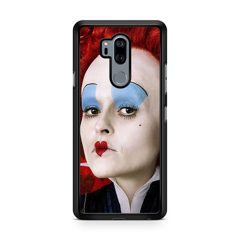 Red Queen Alice in Wonderland Face LG G7 Thinq Case