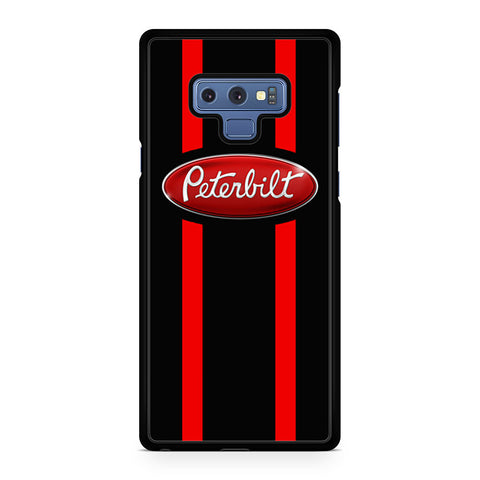 Red Stripes Peterbilt Logo Samsung Galaxy Note 9 Case