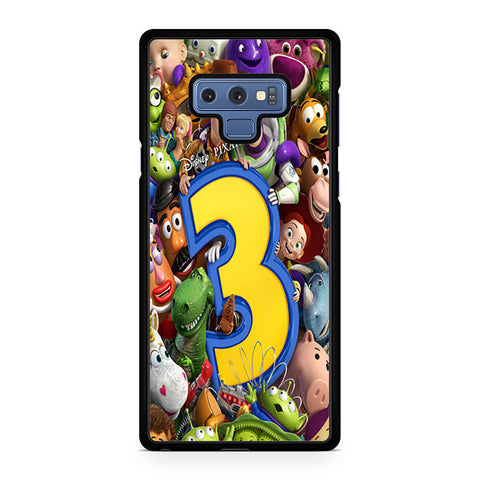 Toy Story 3 Collage Character Samsung Galaxy Note 9 Case