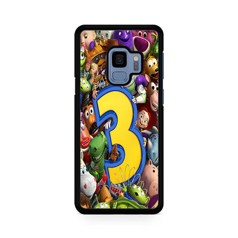 Toy Story 3 Collage Character Samsung Galaxy S9 Case