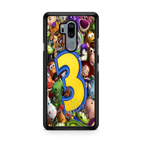 Toy Story 3 Collage Character LG G7 Thinq Case
