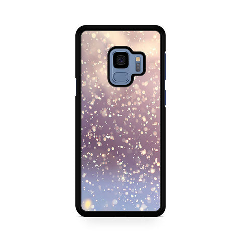 Winter Glitter Samsung Galaxy S9 Case