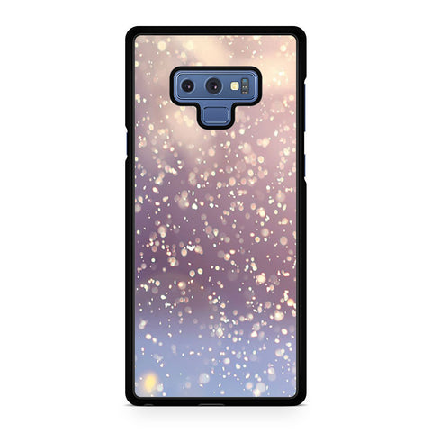 Winter Glitter Samsung Galaxy Note 9 Case