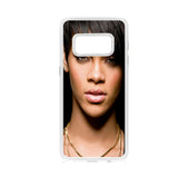 Rihanna Black Face Short Hair Samsung Galaxy S8 Case