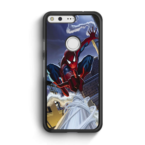 Swing Spider Man Google Pixel XL Case