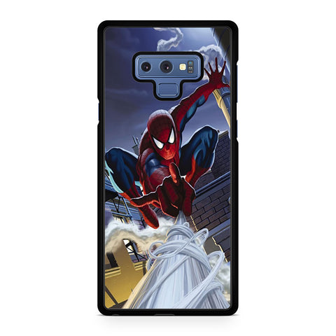 Swing Spider Man Samsung Galaxy Note 9 Case