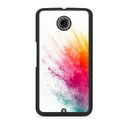 Watercolor Splatter Nexus 6 Case
