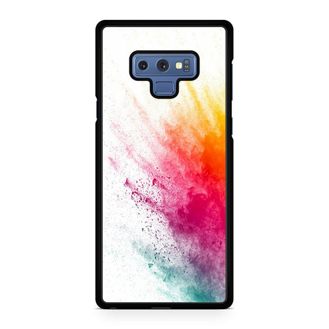 Watercolor Splatter Samsung Galaxy Note 9 Case