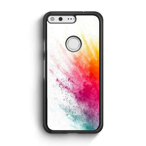 Watercolor Splatter Google Pixel XL Case