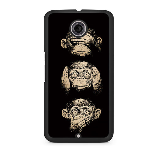 3 Wise Monkeys Nexus 6 Case