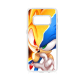 Super Sonic Half Face Samsung Galaxy S8 Case