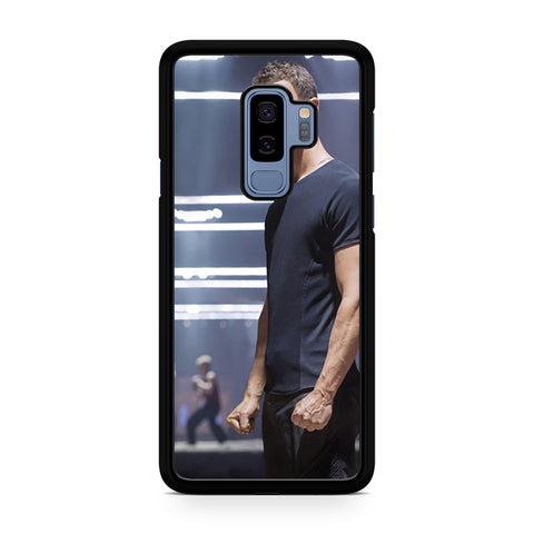 Theo James In Divergent As Four Samsung Galaxy S9 Plus Case