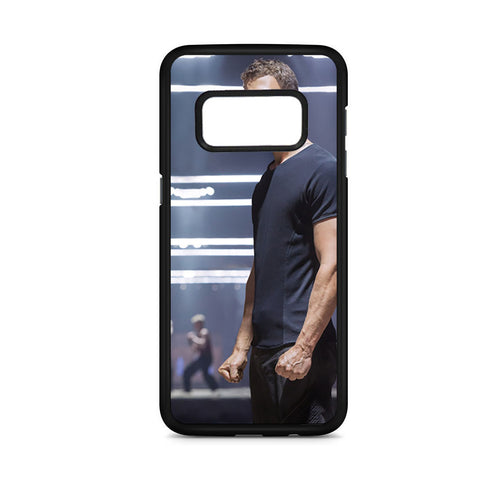 Theo James In Divergent As Four Samsung Galaxy S8 Case