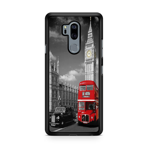 Big Ben London Bus Monochrome LG G7 Thinq