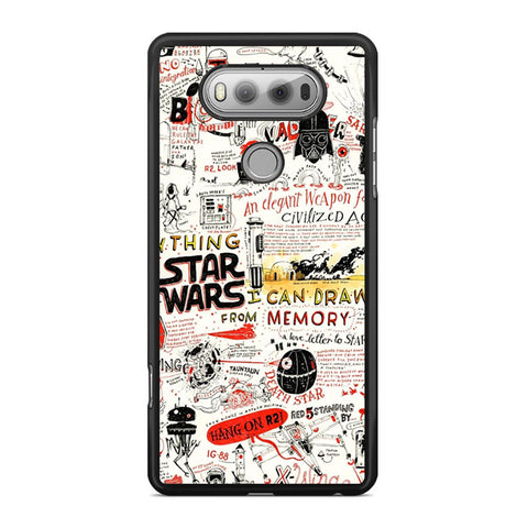 Star Wars Quotes Collage LG V20 Case