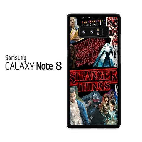 Stranger Things Collage Samsung Galaxy Note 8 Case