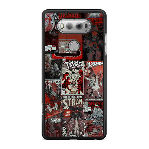 Stranger Things Poster Collage LG V20 Case